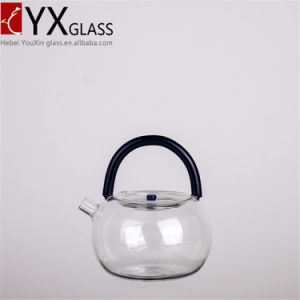 Best-Sale China Borosilicate Glass Teapot to Boil Water/Lead Free Thermos Glass with Infusion Glass Tea Coffee Boiling Pot pictures & photos