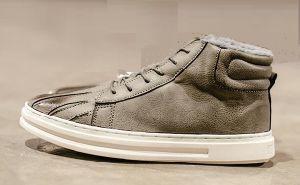 Winter Warmer Comfortable High Top Sneaker (CAS-057) pictures & photos