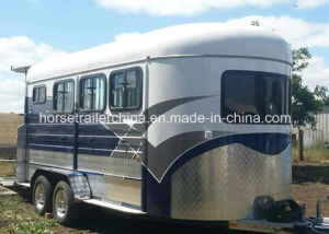 3 Horse Trailer/Horse Floats Hot Sale with Adr Standard pictures & photos