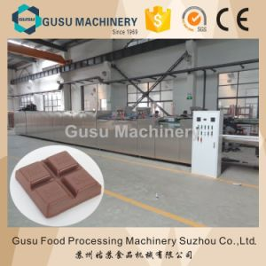 Ce Certified One Shot Chocolate Moulding Machine with Center Filling pictures & photos
