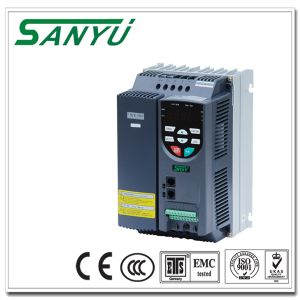 Sanyu Intelligent Good Quality Mitsubishi Substitute VFD 0.4-400kw, 400V Three Phases Input and Output pictures & photos
