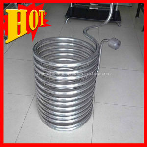 Pure Titanium Coil Tube for Heating pictures & photos
