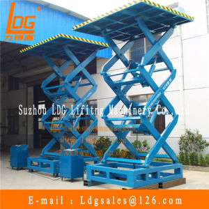 China Stationary Hydraulic Scissor Goods Lift (SJG1-6)