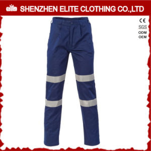 High Visibility Navy Blue Cotton Reflective Workwear Trousers (ELTHVPI-23) pictures & photos