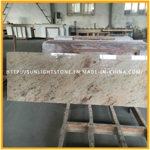 New India Kashmir Gold Granite for Countertop or Cut-to-Size Tiles pictures & photos