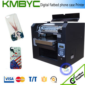 6 Colors White Ink Phone Case Printer Digital Flatbed UV Printers pictures & photos