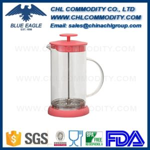Customized Lead Free French Press Coffee Maker with Strainer pictures & photos