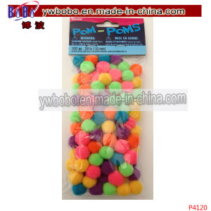 Party Items Acrylic Pompoms Best Holiday Decoration (P4120) pictures & photos
