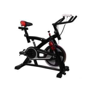 Black Indoor Cycling Exercise Bike Spinning Bike