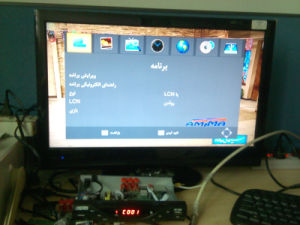 Set Top Box Iran DVB-T2 Digital TV Tuner with IPTV 1080P DVB-T2 IPTV for Arabic Countries pictures & photos