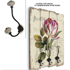 Decorative Wall Hook&Home Decorative Letter Wall Hooks pictures & photos