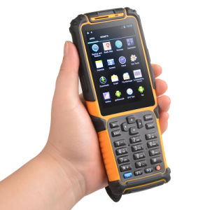 Handheld Android PDA 1d 2D Barcode Scanner RFID Ts-901 with IP64 Industrial Rating pictures & photos