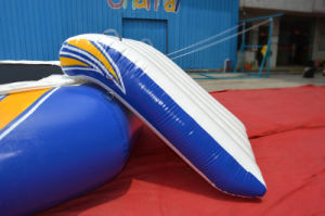 Small Size Water Park Inflatable Floating Trampoline with Slide pictures & photos