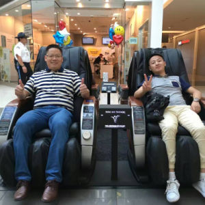 Malaysian Ringgit Operated Paper Currency Vending Massage Chair pictures & photos