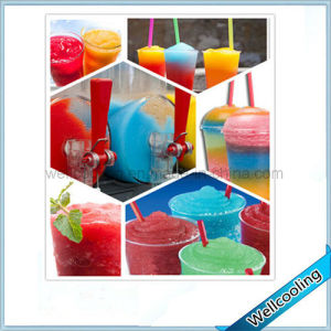 High Effect Snow Granita Machine 2 Tank Slush Machine pictures & photos