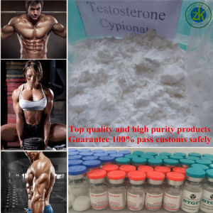 Muscle Anabolic Steroids Testosterone Cypionate Powder Drugs pictures & photos