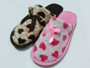 New Indoor Home Nice Soft Wonmen Slipper for Winter pictures & photos