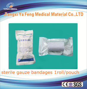 Hot Seller Best Quality Sterile Cotton Gauze Bandage pictures & photos