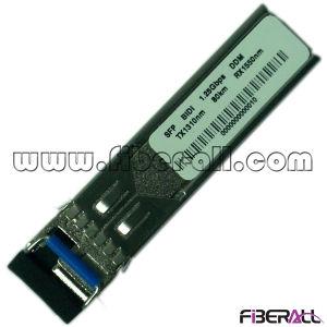 1.25gbps Bidi Fiber Optical SFP Module 80km LC Ddm pictures & photos