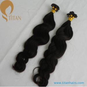 30% off Factory Sale Indian Remy Human Pre Bonded Hair pictures & photos
