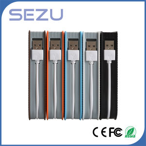 10000mAh Mobile Power Supply with Data Cable USB Charger Li-ion Battery Power Bank pictures & photos