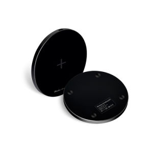 Aluminum High-End Qi Wireless Phone Charger Pad pictures & photos