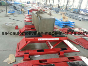 Low Rise Scissor Car Lift 4.5t pictures & photos