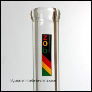 Hfy Glass 12 Inches Glass Smoking Water Pipe Beaker Base in 9mm Thickness Zob Tabacco Hookah Heady Simple Waterpipes pictures & photos