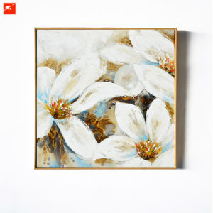 Magnolia Wall Picture Handmade Oil Painting pictures & photos