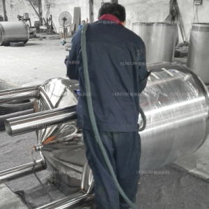 Stainless Steel Vacuum Biogas Storage Tank pictures & photos
