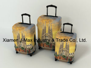 Spandex Travel Luggage Cover Fits 18-32 Inch Luggage, Washable, Comes in Various Printings, High Elastic, Trolley Cover -Spain pictures & photos