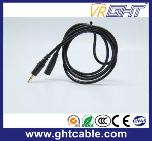 2m 3.0mm-3.0mm Male to Female Audio Cable (M/F) pictures & photos