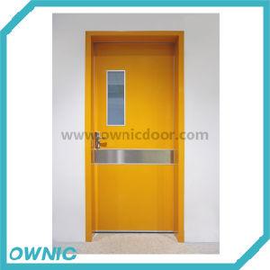 Economic Steel Swing Door Manual Open pictures & photos