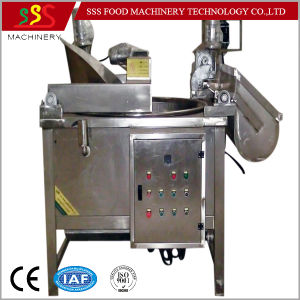 Fryer with Oil Filter System Automatic Continuous Fryer pictures & photos