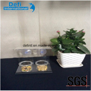 Transparent Acrylic Bowl Bird Feeder with Suction Cup pictures & photos