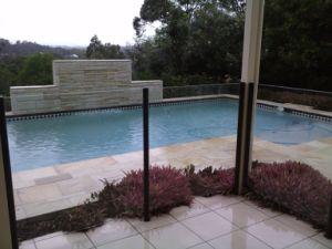 Balcony Black Aluminium Glass Fence for Home Decoration pictures & photos