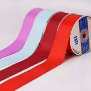 "1.1/2"" Polyester Grosgrain Ribbon pictures & photos"