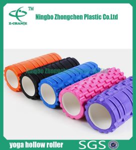 Yoga Roller Crossfit Hollow Grid Exercise Muscle Massage Foam Roller pictures & photos