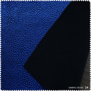 Dark blue Fashion Ladies Leather for Shoe (SP070100TM) pictures & photos