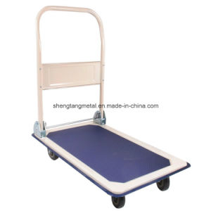 4-Wheel 150kg Foldable Platform Hand Trolley