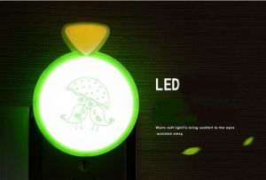 Creative Ring Light Control Night LED Bedroom Cartoon Night Lamp pictures & photos
