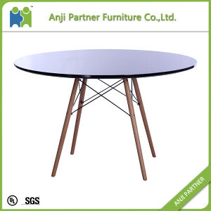 China Manufacture Wooden Table Customized Dining Table (Daphne) pictures & photos