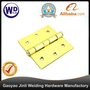 Dh-3X3 Gold Color Butterfly Hinge for Door pictures & photos