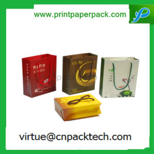 Various Customized Size Matte Laminated Fashion Paper Gift Bag with Handle pictures & photos