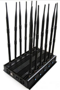 12 CH Indoor Omni Antennas Desktop Mobile Phone Signal GPS 4G 3G Jammer pictures & photos