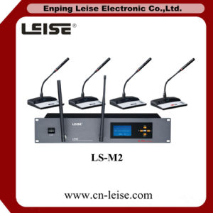 Ls-M2 2.4G Digital Conference System Conference Microphone pictures & photos