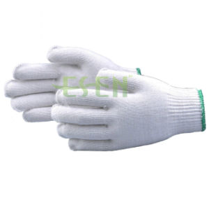 Labor Protective Household Construction Knitted Yarn Work Gloves pictures & photos