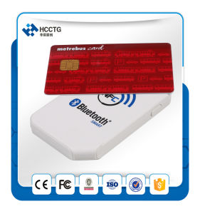 13.56MHz Battery Powered Handheld NFC Bluetooth Card Reader (ACR1255) pictures & photos
