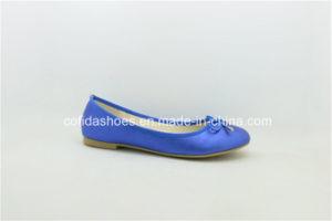 Classic European Comfort Flat Women Ballerina Pumps Shoes pictures & photos