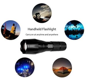 Portable Outdoor Water Resistant Torch with Adjustable Focus pictures & photos
